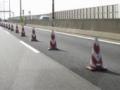高速道路工事幅員減少