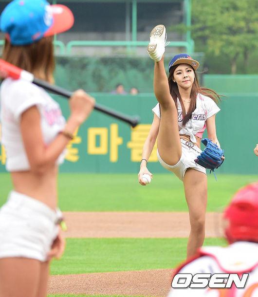 韓国チアリーダー7