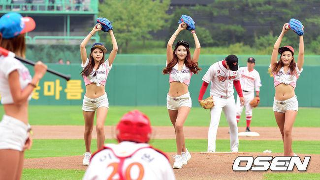 韓国チアリーダー8
