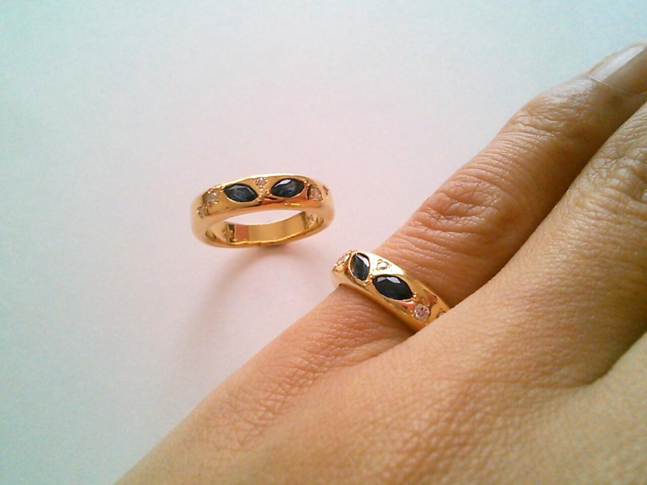 GOLD&SAPPHIRE&DIAMOND