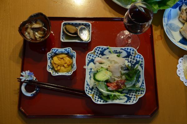 海鞘(ホヤ)海鼠(ナマコ)とくれば「日本酒」は熱燗の「神亀」