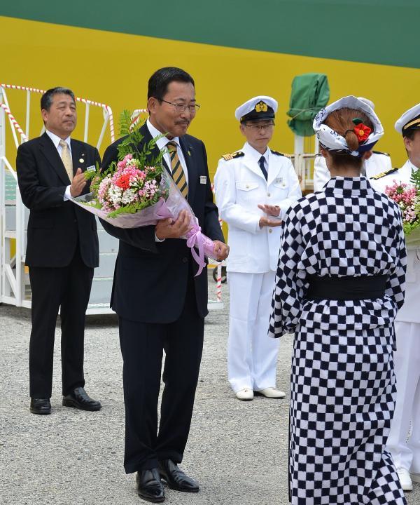 東海汽船 山崎社長