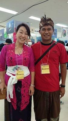 三浦ほうこさんとマデさん