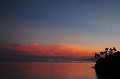 ノバビーチ夕景