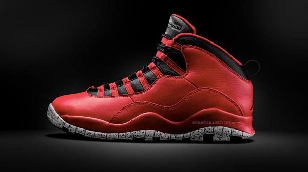 Air Jordan X Red Cement(1)
