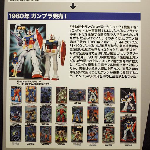 機動戦士ガンダム特別展 100