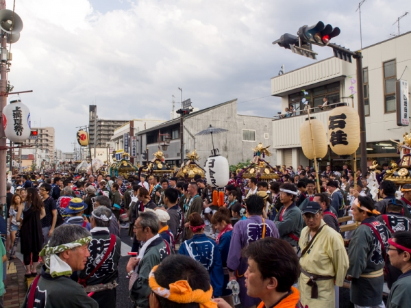 上溝夏祭り D