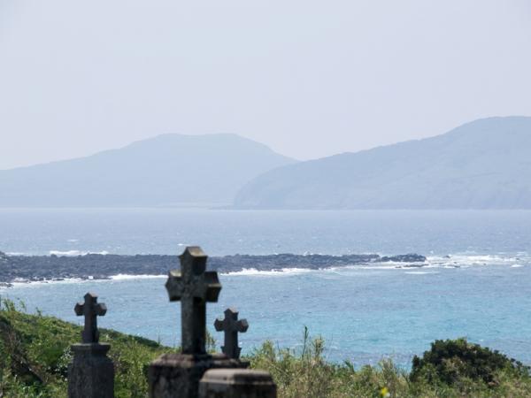三井楽半島カトリック墓碑群 N
