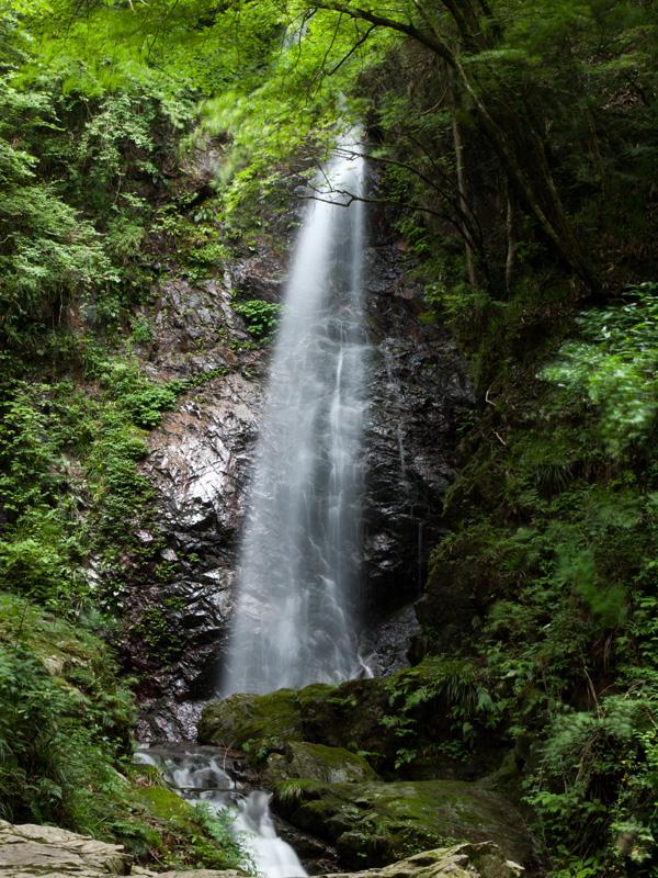 桧原村 払沢の滝 C