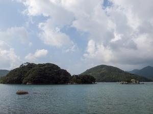 奥浦町堂崎の海岸 B