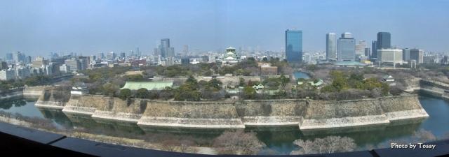 大阪城 パノラマ