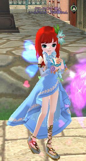 祝祭のドレス