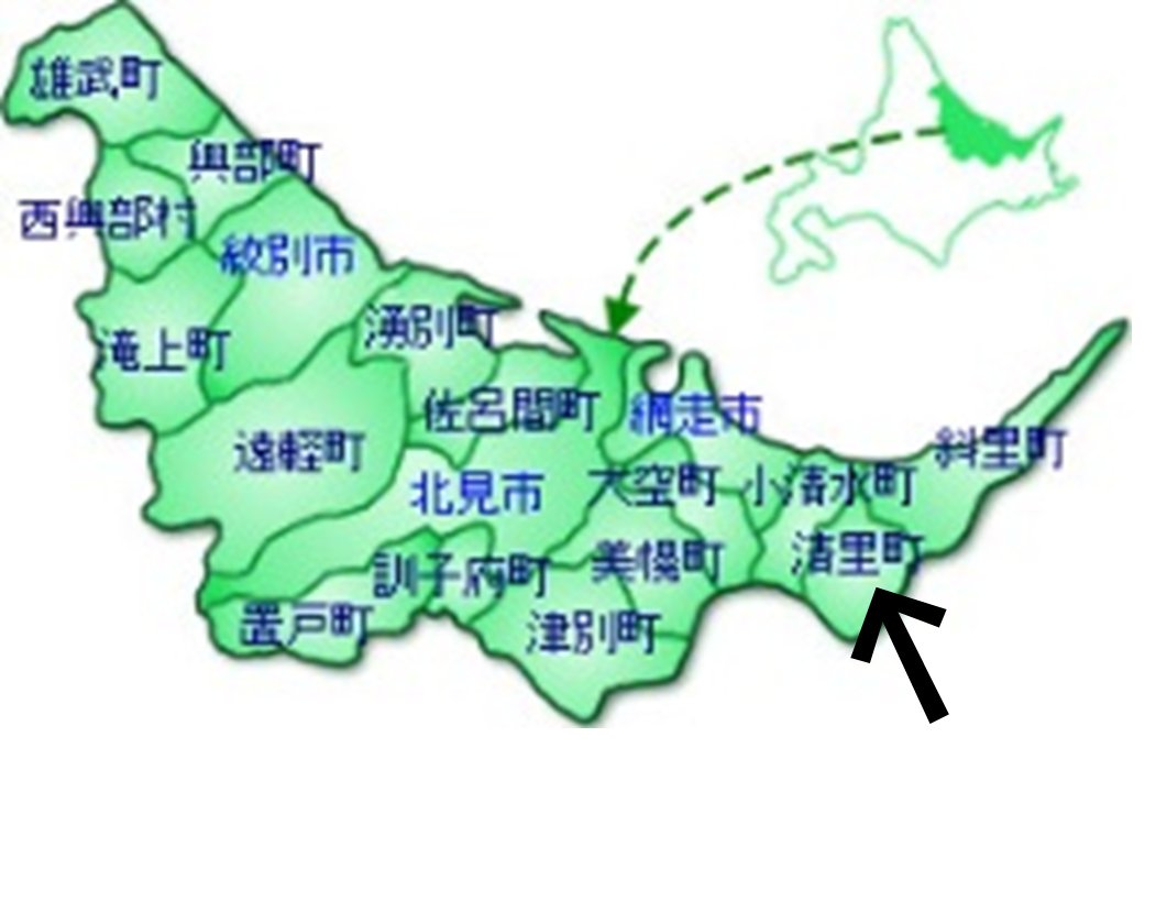 清里町地図