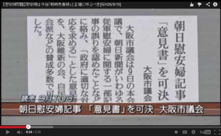 【動画】慰安婦は今後「戦時売春婦」と正確に呼ぶべきだ [嫌韓ちゃんねる ~日本の未来のために~
