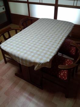20140407テーブル 椅子のリメイク