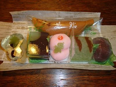 和菓子いろいろ