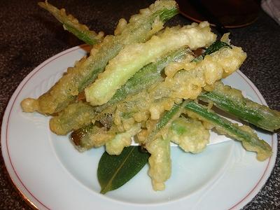 九条葱の天ぷら