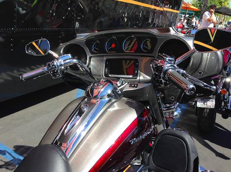 ハーレー2015モデルのデモライド4
