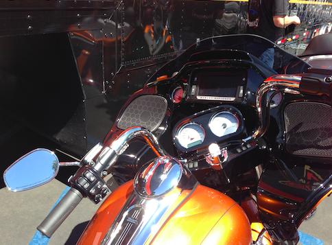 ハーレー2015モデルのデモライド7