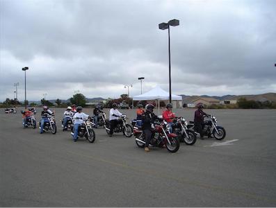 アメリカのバイク免許教習所