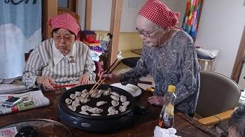 餃子焼き1