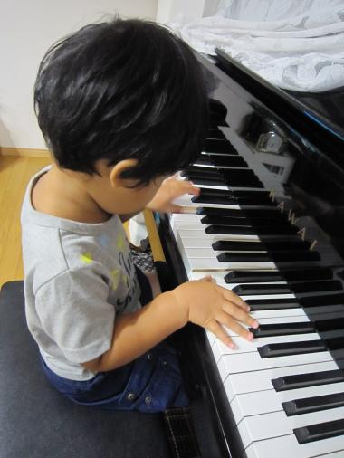 チビピアニスト?