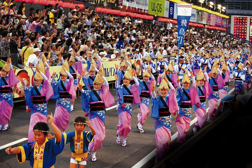 徳島市内阿波踊り
