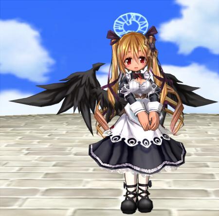 古風なメイド服(上)(下)天魔の翼