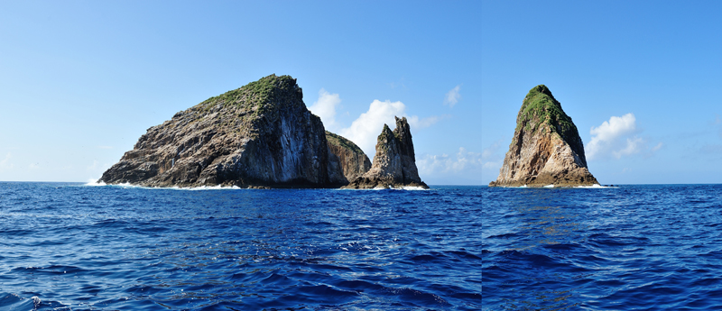 鷹島(南から見た全景)