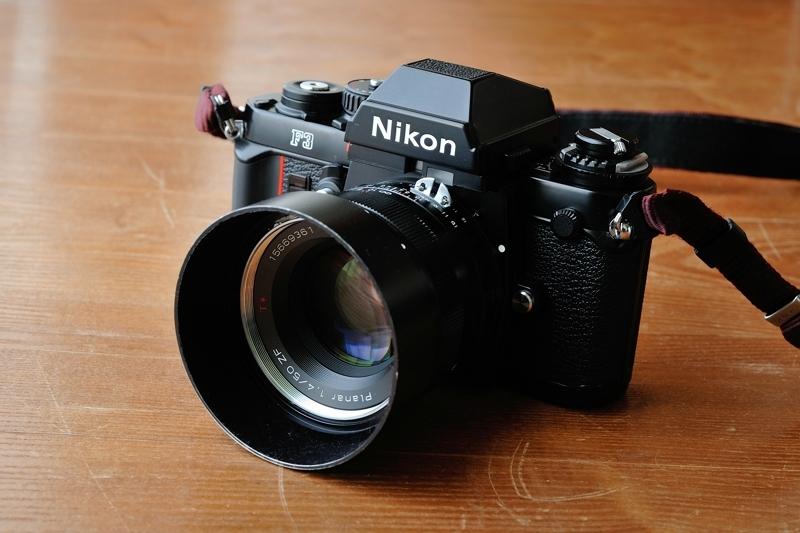 Nikon F3 + Carl Zeiss Planar T* 1.4/50 ZF