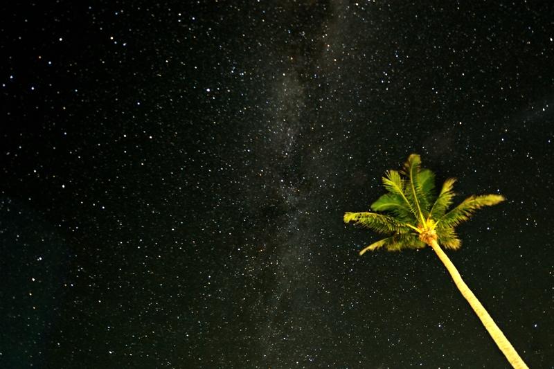 南大東島 夜空