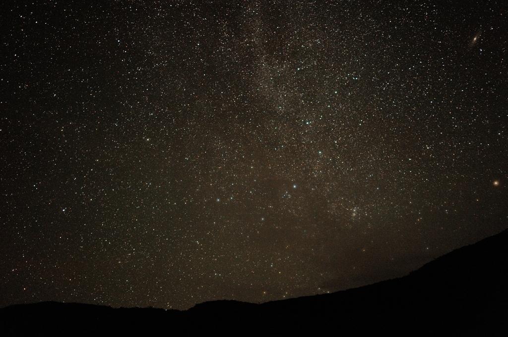 西表島・鹿川湾の夜空