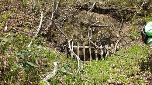 北見炭鉱へ (11)穴遠