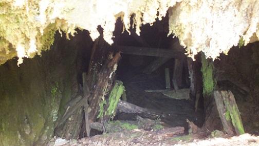 北見炭鉱へ (13)穴奥