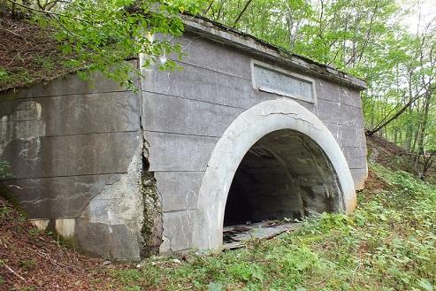 尺別炭鉱 隧道2