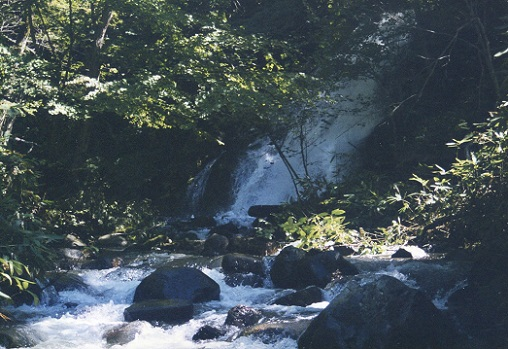 早月の滝 (2)