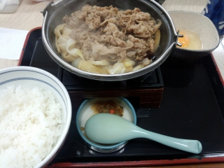 牛すき鍋膳1-2
