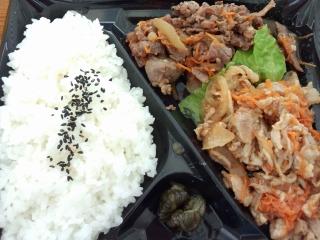 肉弁当1-2
