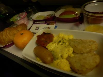 タイ航空「羽田 → バンコク」4