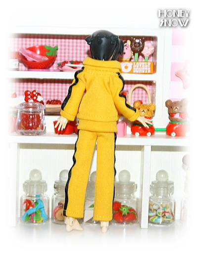 1/12DOLL 【ジャージ】 武装神姫、figma、リボルテック、オビツ11、ピコニーモ 服