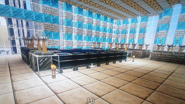 ポーション実験室。フロアの半分も無い状態ですけど、残りのフロアの用途は思案中。