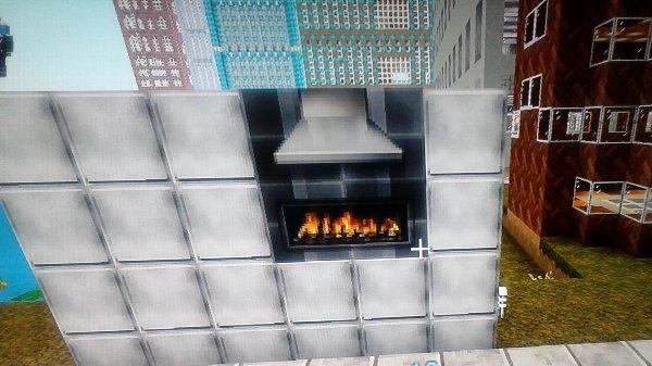 暖炉ですね。壁に配置すれば暖かみが出るでしょう。