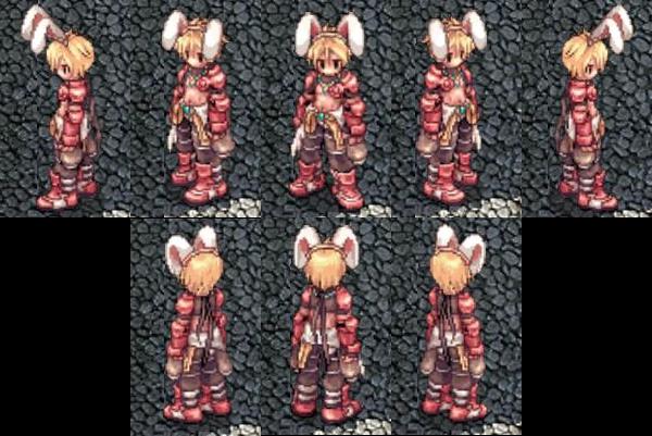 [衣装] ウサギのヘアバンドのデザイン