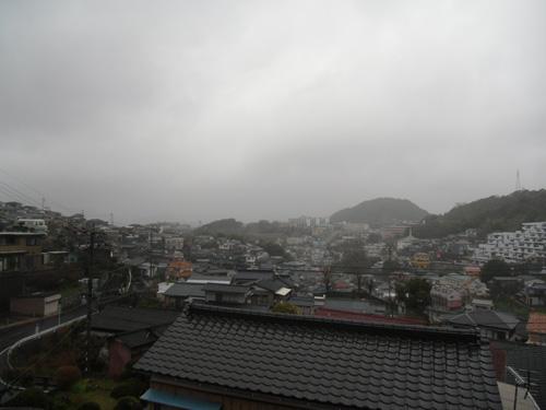 しっかり、雨だね。