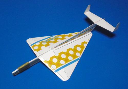 紙飛行機版のGEG2