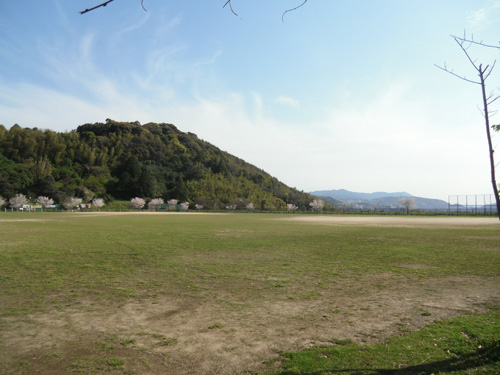 片渕公園でーす。