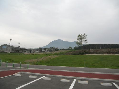 例の場所からの普賢岳。