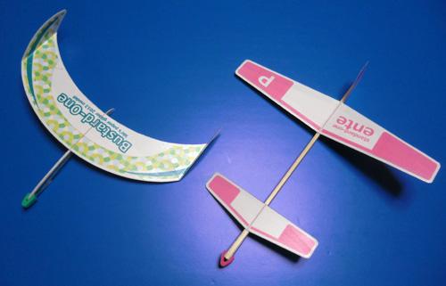 無尾翼と先尾翼1