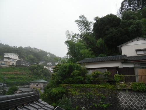 夕方は本格的に台風ね。