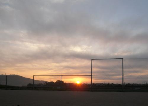 日の出~!